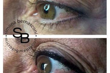 trucco semipermanente contorno occhi